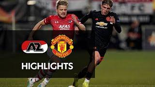 Highlights Az   Manchester United   Europa League