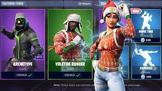 """NOG OPS"" + ""YULETIDE"" RANGER SKINS AVAILABLE NOW! - GRINDING BATTLE PASS! (Fortnite Live)"