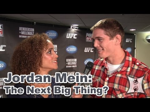 "UFC on FOX's Jordan Mein on Matt Brown Fight + The Hype Calling Him ""The Next Big Thing"""
