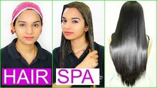 घर पर हेयर स्पा कैसे करे ~ DIY HAIR SPA for Soft, Shiny, Silky Hair | PrettyPriyaTV