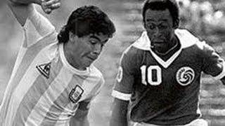 Diego Maradona Vs Pelé | Best Goals