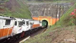 double headed duos cc 206 96 cc 206 21 ka kontainer jumbo keluar terowongan sasaksaat