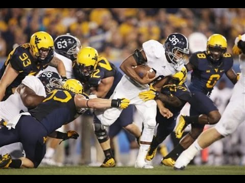 Matt Breida (RB - GA Southern) vs WVU (2015)   NCAA Football Highlights HD
