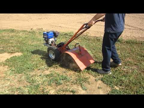 Ariens Tiller With a New Carb