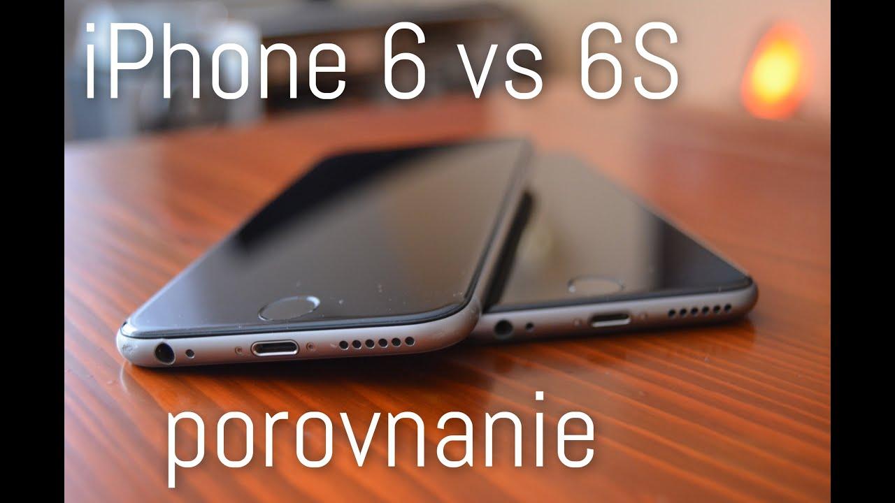 Apple iPhone 6 vs 6s základné parametre a porovnanie - YouTube a8a4a6f96d8