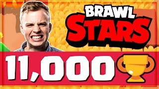 WE HIT 11,000 TROPHIES! Easy Trophy Pushing | Brawl Stars
