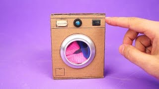 Amazing Mini Washing Machine - DIY Homemade