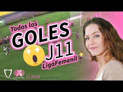 Resumen Goles Liga MX FEMENIL Jornada 11, 2018