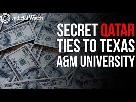 Secret Qatar Ties To Texas A&M University