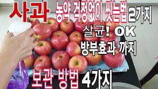 사과 농약 걱정없이 씻…