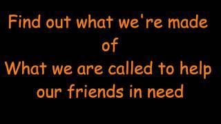 Count On Me- Bruno Mars Lyrics