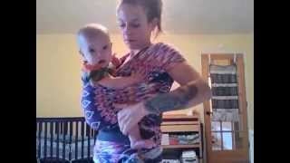Baby Wearing ~ No Sew Wrap