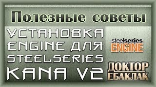 установка Engine для SteelSeries Kana V2