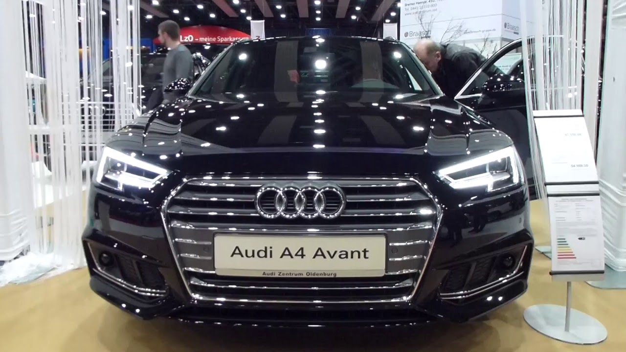 2016 Audi A4 Avant S Line Exterior Amp Interior 2 0 Tdi
