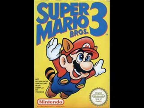 Super Mario Bros. 3 - World Map 1: Grass Land Theme
