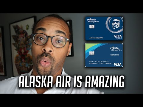 Alaska Airlines Credit Cards & Mileage Plan - Best For First Class Rewards!