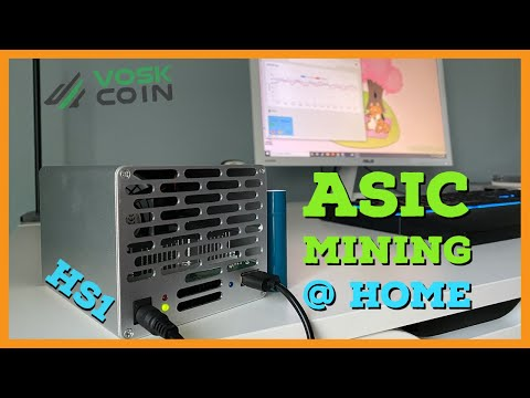 The Best Crypto ASIC Miner For Residential Mining - Goldshell HS1 Review