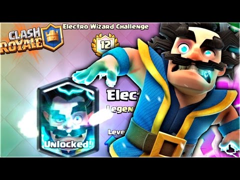 UNLOCKING the ELECTRO WIZARD EARLY for FREE!! Clash Royale NEW LEGENDARY CHALLENGE Update! [ReTrex]
