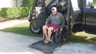 Paraplegic Quadriplegic handicap Vehicle Truck Conversion (driving)