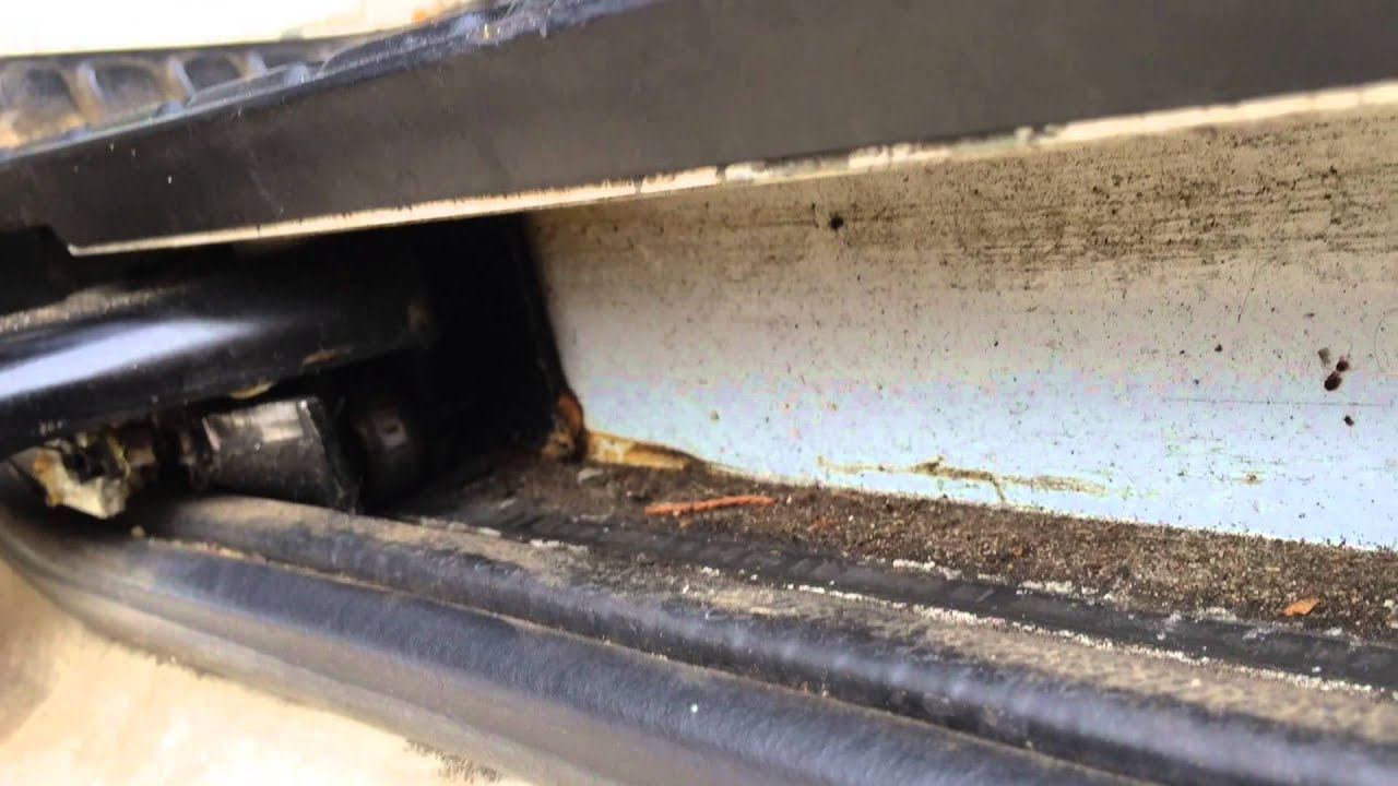 medium resolution of how to fix a stuck sliding van door