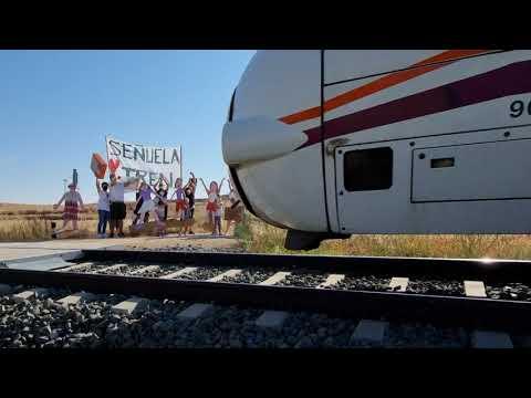 El tren pasó a 200 por Señuela