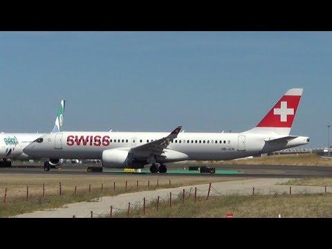 Swiss International Air Lines Bombardier C Series CS300 (BD-500-1A11) HB-JCB (cn 55011)