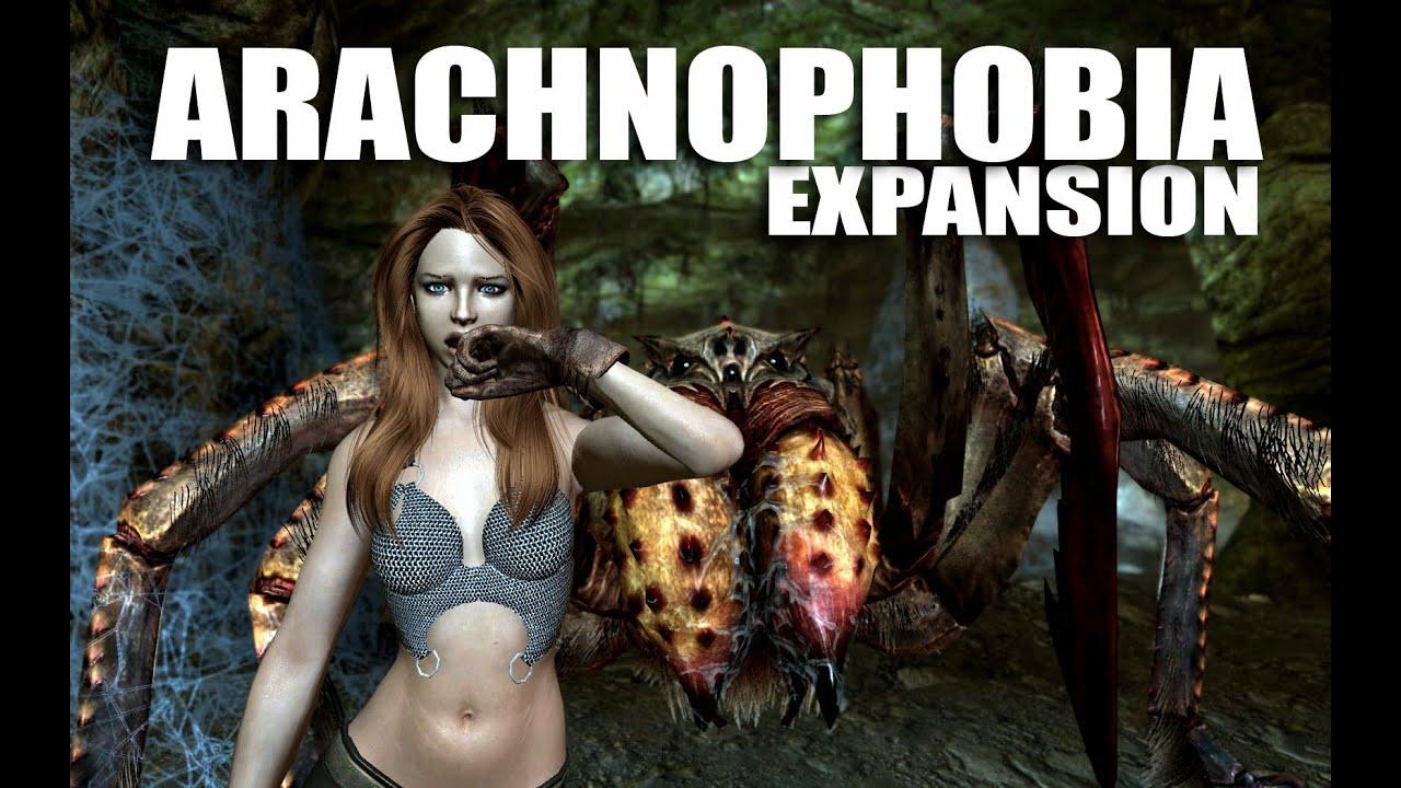 Skyrim Mods Watch Arachnophobia Expansion