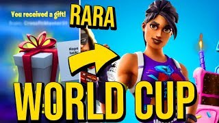 THIS SKIN WILL BECOME RARE! * SKIN WORLD CUP * | Fortnite