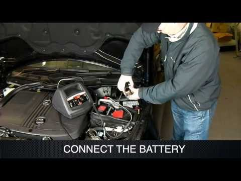 Using Schumacher Battery Charger