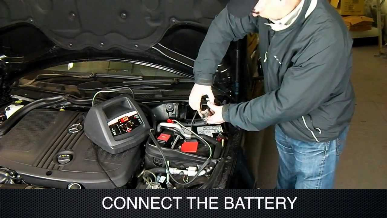 hight resolution of using a schumacher battery charger