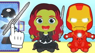 BABY ALEX AND LILY Dress up as superhero | Gameplay Videos for Kids