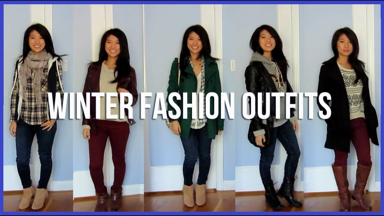 Style Winter Fashion Outfits Youtube