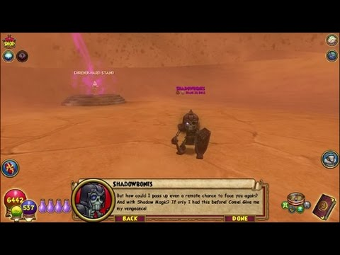 Wizard101 Mirage solo #41 East Sands of Time Shadow Bones (Balance)
