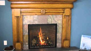 Lawrence Wood Fireplace Mantel - Call (785) 260-6957 In Lawrence