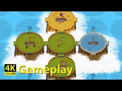 Circle Empires - 4K GAMEPLAY [ADDICTIVE Real Time Strategy Game]