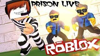 РОБЛОКС чумовой режим ВЫЖИТЬ В ТЮРЬМЕ веселая мульт игра с персонажами как ЛЕГО ROBLOX PRISON LIVE