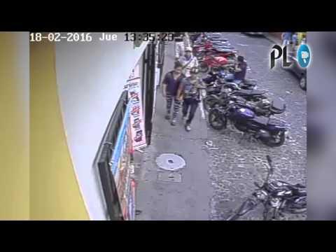 Captan robo de moto en Antigua Guatemala