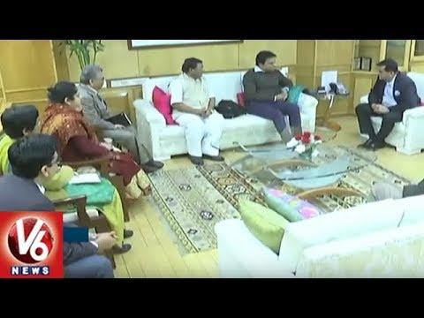 IT Minister KTR Meets Union Minister Finance Minister Arun Jaitley | Delhi | V6 News