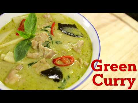 Thai Green Curry Recipe แกงเขียวหวาน - Hot Thai Kitchen ...