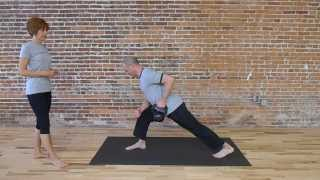 Kettlebell Lunge Row, Winter Garden Yoga, Brian Friedman