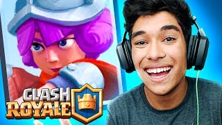 The BETTER the MUSKETEER CLASH ROYALE!!
