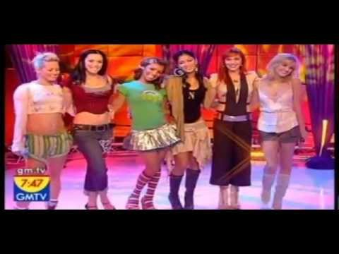 The Pussycat Dolls [GMTV] - Singing Debut Song 'Don't Cha'.