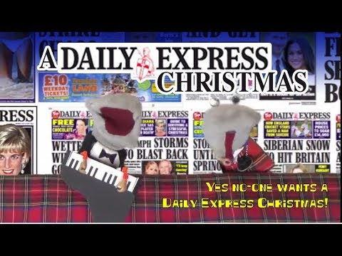 A Daily Express Christmas - Scottish Falsetto Sock Puppet Theatre