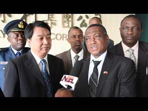 NIGERIAN DEFENCE MINISTER VISIT CHINESE MILITARY CONTRACTORS