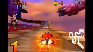 Crash Team Racing (PS1) | All bosses ! [FR]