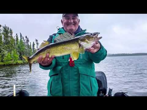Fishing Lynn Lake Manitoba