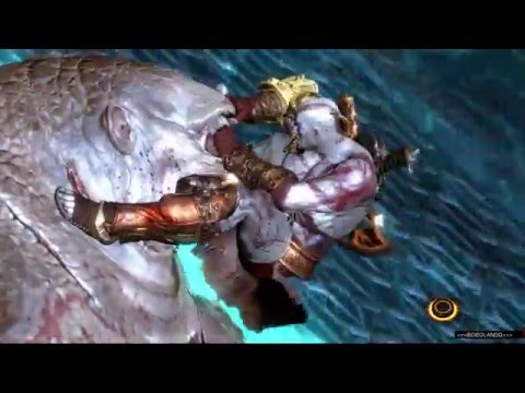 PS4 God Of War 3 III Remastered [DIFFICOLTÀ TITANO] Boss Scorpione Gigante Playthrough ITA #12