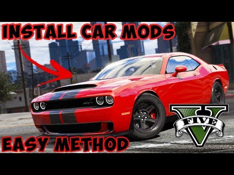 how-to-install-car-mods-in-gta-5-2018!!!*easy*