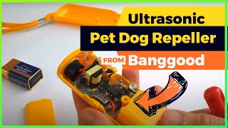 Ultrasonic Pet Dog Repeller - Banggood