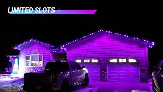 CELEBRATIONS WITH LED ACCENT LIGHTING!